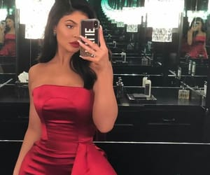 red and kylie jenner image