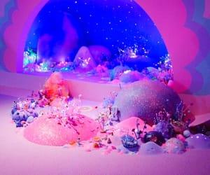glitter, purple, and wink image