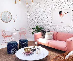 living room, beautiful, and decor image