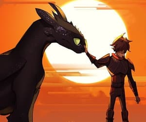toothless and howtotrainyourdragon image