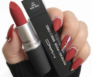 lipstick, mac, and cosmetics image
