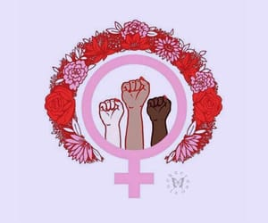background, empowerment, and feminism image