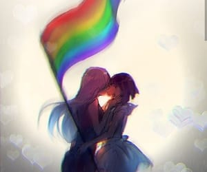 love, lesbian, and girls image