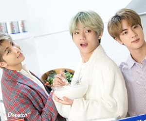 jin, dispatch, and bts image