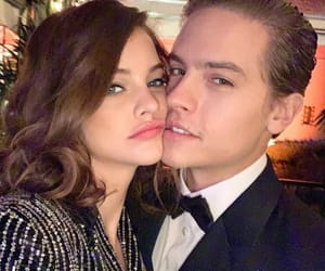 couple, dylan sprouse, and barbara palvin image