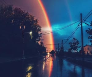 rainbow and nature image