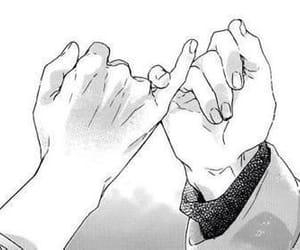 promise, manga, and hands image