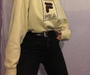 fashion, Fila, and inspo image