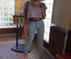casual, fashion, and denim image