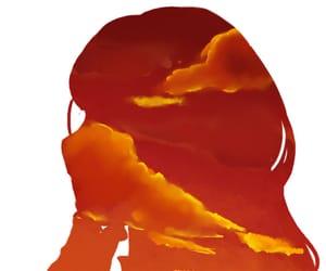 aesthetic, rena rouge, and orange image