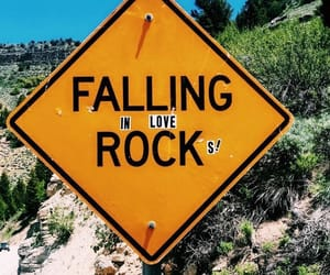 sign, funny, and rock image