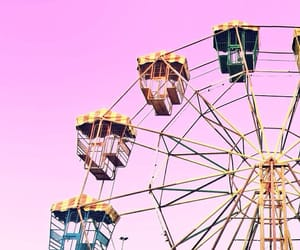 pastel, ferriswheel, and candycolors image