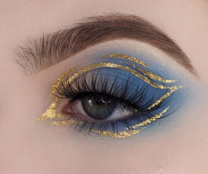 eye, aesthetic, and makeup image