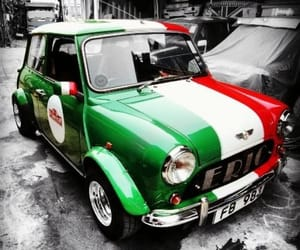 car, flag, and colours image
