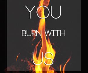 books, burn, and film image