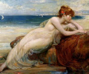 aphrodite and painting image