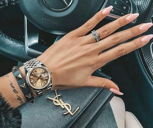 fashion, nails, and style image