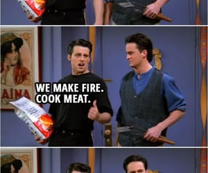 chandler bing, quote, and friends tv series image