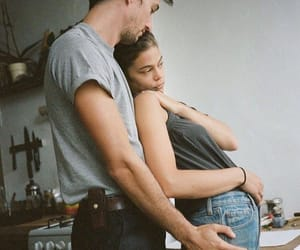 aesthetic, couples, and jeans image