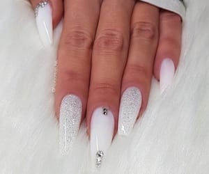 beautiful, diamond, and nails image
