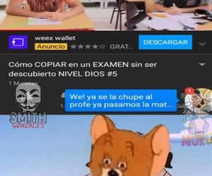 meme, escuela, and calificacion image