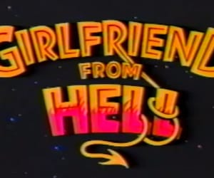 girlfriend, hell, and aesthetic image
