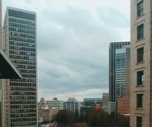 atlanta, buildings, and cloudy image