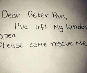 peter pan, disney, and sad image