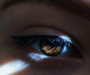 eye, eyes, and light image