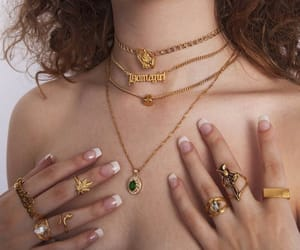 gold, cute, and jewelry image