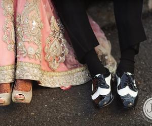 india, wedding, and couple image