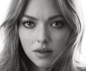 amanda seyfried, black and white, and model image