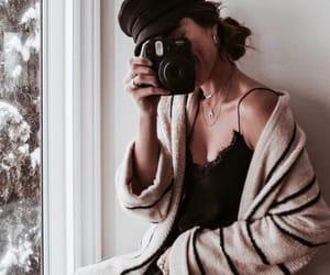 girl, fashion, and camera image