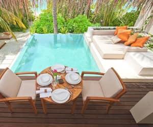 luxury, holiday, and Maldives image