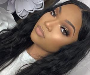 black, baddies, and eyebrows image