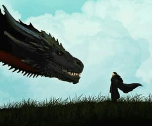 Jon, snow, and thrones image