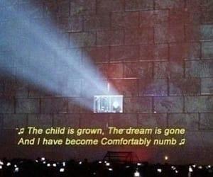 Lyrics, Pink Floyd, and music image