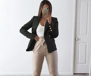 beige, blazer, and business image
