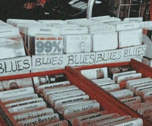 vintage, wallpaper, and blues image