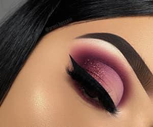 beauty, eyeshadow, and eyeliner image