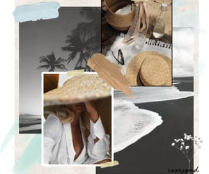 beach, fashion, and graphic image