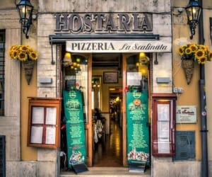 italy, rome, and pizzeria image