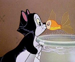 disney, cat, and fish image