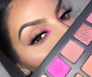 beautiful, eyes, and nails image
