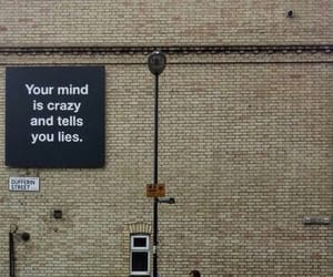 quotes, crazy, and lies image