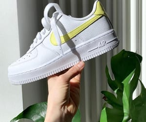air force 1, nike, and plant image