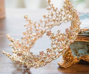 crown, beauty, and diamond image