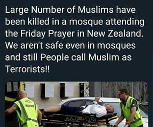 terrorism, christ church, and newzealand image