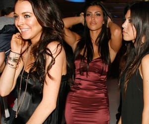 kim kardashian, kourtney kardashian, and 00's image