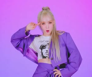 kpop, pink, and purple image